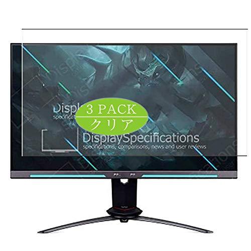 VacFun 3 Piezas Claro Protector de Pantalla, compatible con Acer Predator XB253Q GW XB253Q Gwbmiiprzx 24.5', Screen Protector Película Protectora(Not Cristal Templado)