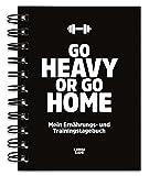 Trainingstagebuch & Ernährungstagebuch für Krafttraining, Fitness-Studio, Bodybuilding, Diät,...