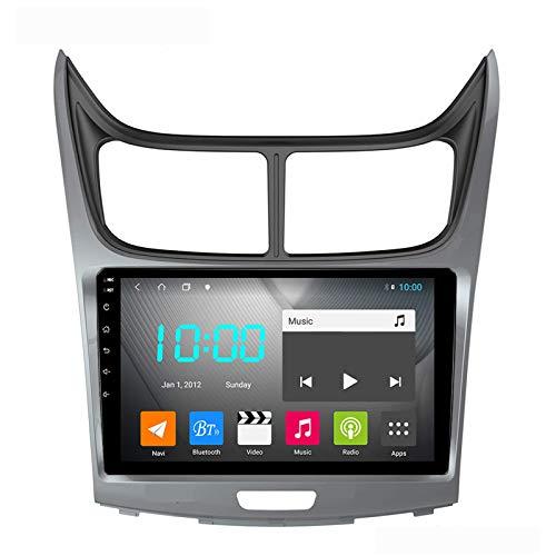 Android 9.0 Coche Estéreo Double Din para Chevrolet Sail 2010-2013 GPS Navigation GPS NAVEJA DE LA CABEZA DE 9 PULGADICAS TOUCHA PANTALLA MP5 Multimedia Player Radio Video Receptor con 4G WiFi DSP