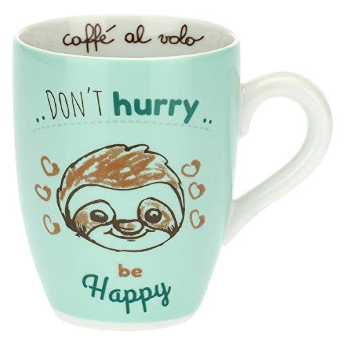 THUN -Tasse mit Faultier - Don't Hurry, be Happy