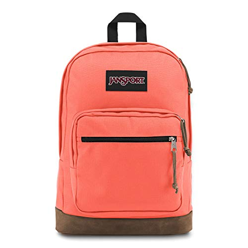 Jansport Right Pack Backpack - Classic Design Including 15' Laptop Sleeve | Orange Fade