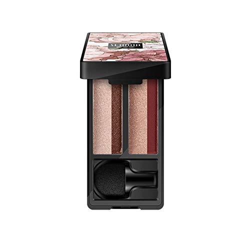 Allouli Lazy Two-tone Gradient Eyeshadow Palette Waterproof Glitter Shimmer High Pigment Makeup