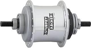Sturmey Archer S2 Kick-Shift Hub Kit 36h 110mm Silver Without Coaster Brake