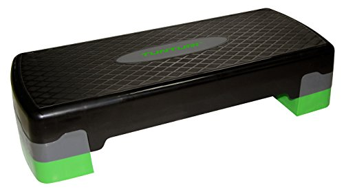 Tunturi-Fitness 14Tuscl357 Step para Aerobic, Unisex Adulto, Negro, Talla Única