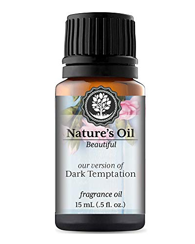 Dark Temptation Fragrance Oil (15ml) For Perfume, Diffusers, Soap Making, Candles, Lotion, Home Scents, Linen Spray, Bath Bombs, Slime