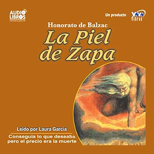 La Piel de Zapa [The Spade Skin] audiobook cover art