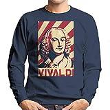 Photo de Cloud City 7 Antonio Vivaldi Retro Propaganda Poster Men's Sweatshirt