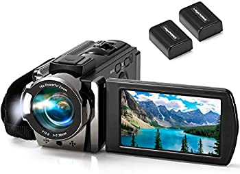 Kimire Full HD 1080p 24MP 16X Digital Zoom Camcorder Camera