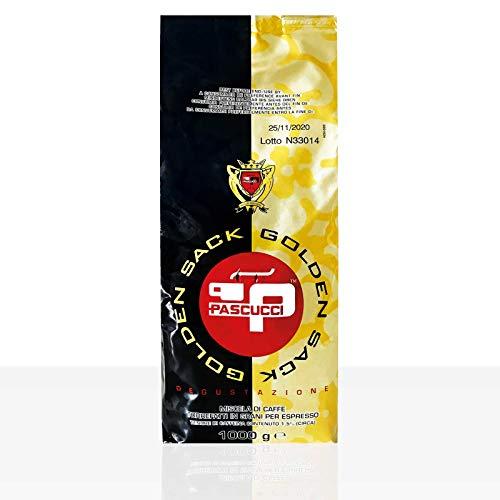 PASCUCCI Caffe Gold Espresso 8 x 1kg Kaffee ganze Bohne, 100% Arabica