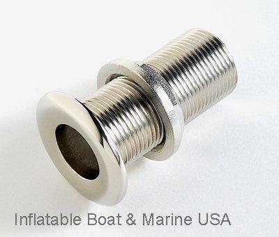 Boat Plumbing Fittings -Thru Hull/Drain - 1