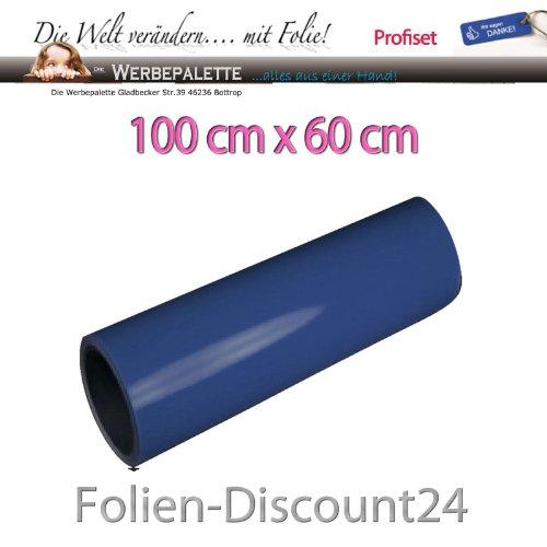 (EUR 9,08 / vierkante meter) Aquarium achterwandfolie folie NIGHT BLUE 100 cm x 60 cm TOP ! Prijs
