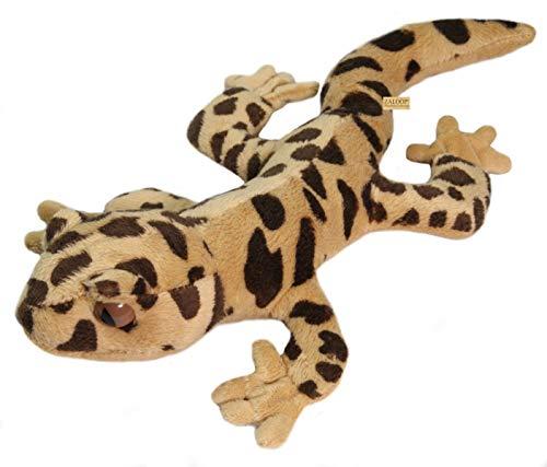 Zaloop Gecko Leopardgecko ca. 27 cm Kuscheltier Plüschtier Stofftier Echse C7