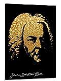 FGVB Johann Sebastian Bach Leinwand Kunst Poster und