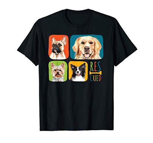 Geschenk für Hundefreunde - Rettungshund T-Shirt