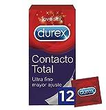 Durex Contacto Total Preservativos 12 Unidades