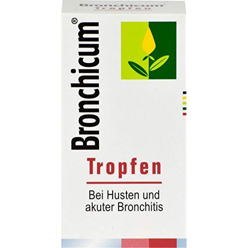 Bronchicum Tropfen bei Husten und akuter Bronchitis, 50 ml Lösung