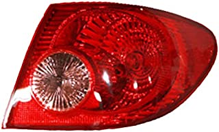 NEW RIGHT TAIL LIGHT FITS TOYOTA COROLLA 2005 2006 2007 2008 TO2801154 81550-02290 8155002290