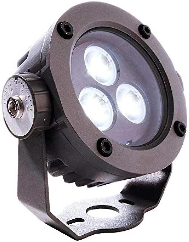 Deko Light 730280 Boden-   Wand-   Deckenleuchte, Power Spot, 24V DC, 5,00 W
