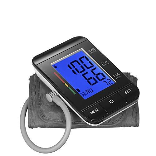 Bloeddrukmeter, Upper Arm Tonometer Bloeddrukmeter Digital LCD-Scherm Automatische Heart Beat Meter Machine Meten