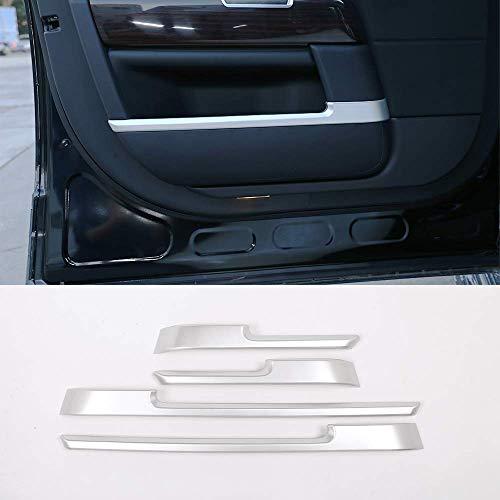 SWEET Décoration de Voiture, ABS Chrome décoration de Porte intérieure Bandes de décoration Autocollant 4 pièces Compatible avec RR Vogue L405 2013-2017 Accessoires de
