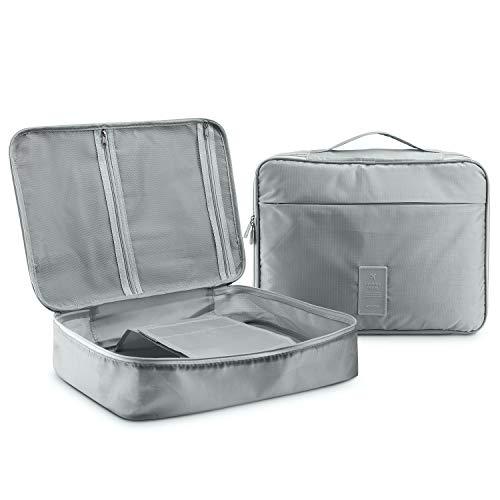 BeeViuc Travel kleding tassen, shirt drager met anti-rimpel shirt map, shirt verpakking organisator voor koffer, shirt case beschermer voor bagage