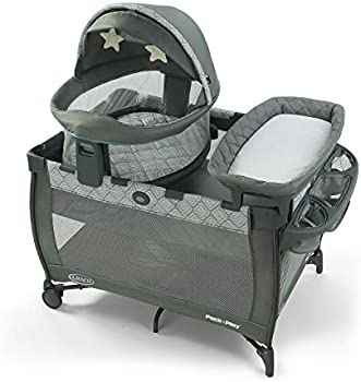 Graco Pack n Play Travel Dome DLX Playard Portable Bassinet