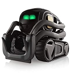 commercial Vector Robot by Anki, a domestic robot that hangs and supports with integrated Amazon Alexa robotics for adults