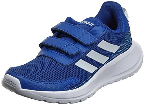 adidas Unisex-Child Tensaur Run Sneaker, Team Royal Blue/Footwear White/Bright Cyan, 34 EU