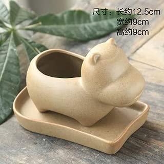 Outdoor Wall Planter - Flowerpot Planter-Creative Ceramic Bonsai Garden Pots Planters Flower Pot Cute Pots