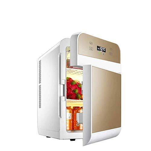 Mini-Kühlschrank, 20 l, Dual-Core-Geräuschdämpfung, CNC, elektrische Kühlbox, Kühlbox, Warmer, Display, Kühler, Auto-Kühlschrank für Camping, Wohnwagen, Picknicks und Festivals