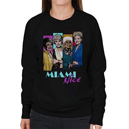 The Golden Girls Miami Nice Sweatshirt for Ladies, S to 2XL