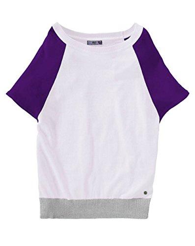 AJC Damen-Pullover Pullover Violett Größe 36/38