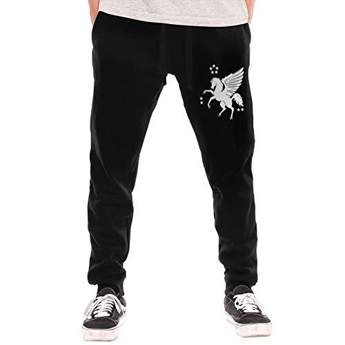 LZKDAMAI Men Guard Pants US Marine Corps VMGR-252 Pegasus 3D Printed with Pockets Joggers Pants Black