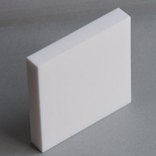 "Macor, MAC2-140303, Machinable Ceramic Sheet, 7/8"" Thick X 3"" X 3"""