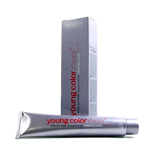 Revlon Young Color Excel, Tinte para el Cabello 101 Plata Claro - 70 ml