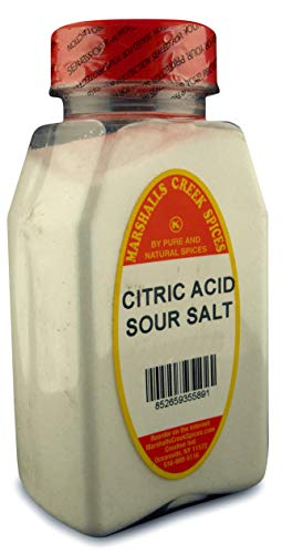 Marshall's Creek Spices Marshalls Creek Spice Co. XL Size Citric Acid Sour Salt, 32 Oz