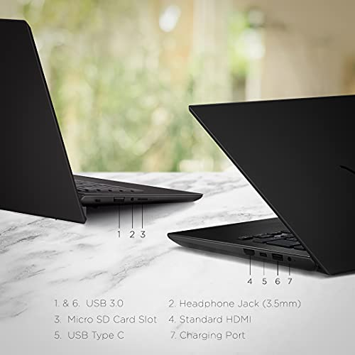 VAIO E15 NE15V2IN006P 15.6-inch Laptop (AMD R5-3500U/8GB/512GB SSD/FHD Display/Windows 10 Home/Radeon™ Vega 8 Graphics/MS Office 365), Black