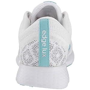adidas Women's Edge Lux 4 Primeblue Running Shoe, White/Blue Spirit/Grey, 8.5
