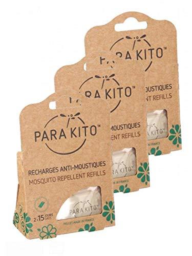 Parakito - Protection ANTIMOUSTIQUE Naturelle - Recharges Pa
