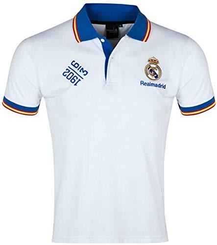 Real Madrid Polo Shirt Herren Baumwolle Polo Shirt