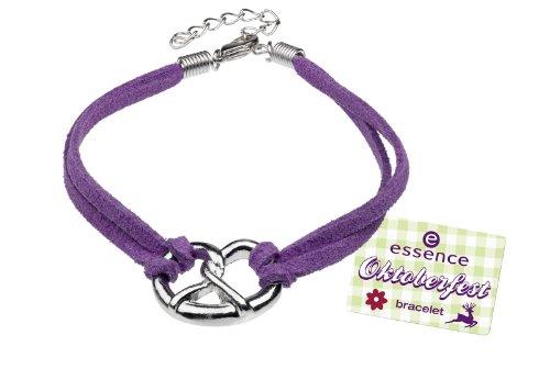 ESSENCE Oktober Fest Arm Band N. 01Bavarian Beauty colore: Purple Bracciale con Breze Bracelet ideale come accessorio per il Dirndl.