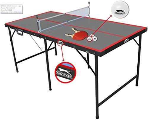 Slazenger - Mesa de Ping-Pong Plegable,...