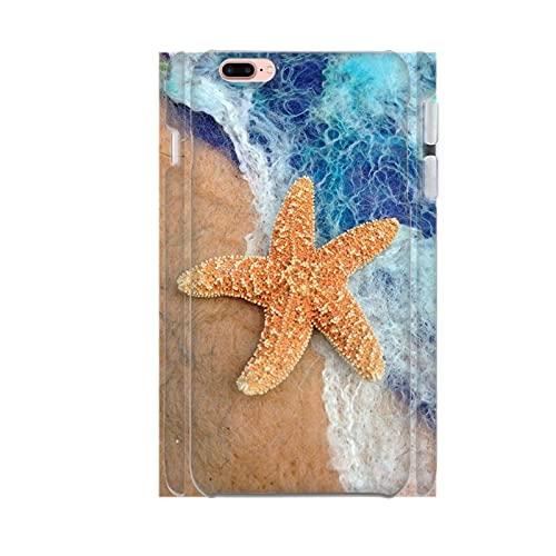 Generic Popolare Compatibile per iPhone 6P 6Ps Womon Guscio di ABS Duro Stampare con Little Starfish