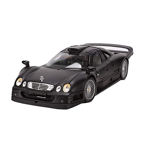 WAWAYU Auto Model, 1.18 Mercedes-Benz CLK GTR Simulation Legierung Auto-Modell-Spielzeug Static Auto-Modell-Dekoration
