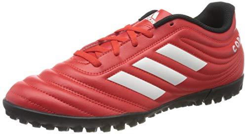 adidas Herren Copa 20.4 TF Football Shoe, Active Red/Footwear White/Core Black, 40 EU