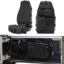 Smittybilt GEARBLACK1 BLACK GEAR SEAT COVER KIT