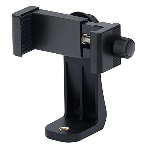 TOOGOO Universal Adaptateur De Trépied pour Smartphone,Adaptateur pour Support De Téléphone Portable pour/Galaxy/Nexus,à Utiliser sur Trépied 1/4-20,Monopied,Baton à Selfie