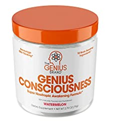 HEIGHTENED MENTAL CLARITY, FOCUS & COGNITIVE PERFORMANCE - Reduce brain fog and clear the cobwebs holding you back from achieving limitless status! Find creativity and free your thoughts with modern science (see product description below for scientif...