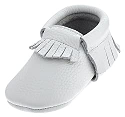 SAYOYO Soft Sole Baby Shoes Baby Leather Infant Toddler Prewalkers