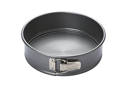 Circulon Momentum Bakeware, Printemps Forme Cake Tin antiadhésif en Acier au carbone 24 cm - Gris